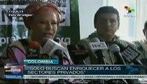 Piedad Córdoba rechazó medidas impuestas por el gobierno en Catatumbo