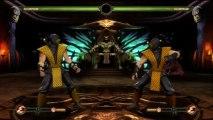 Mortal Kombat 9 Klassic Skins DLC Pack 1 With Fatalities HD 720p