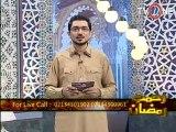 Rehmat e Ramzan 4th Seher 14-07-2013 Seg 3