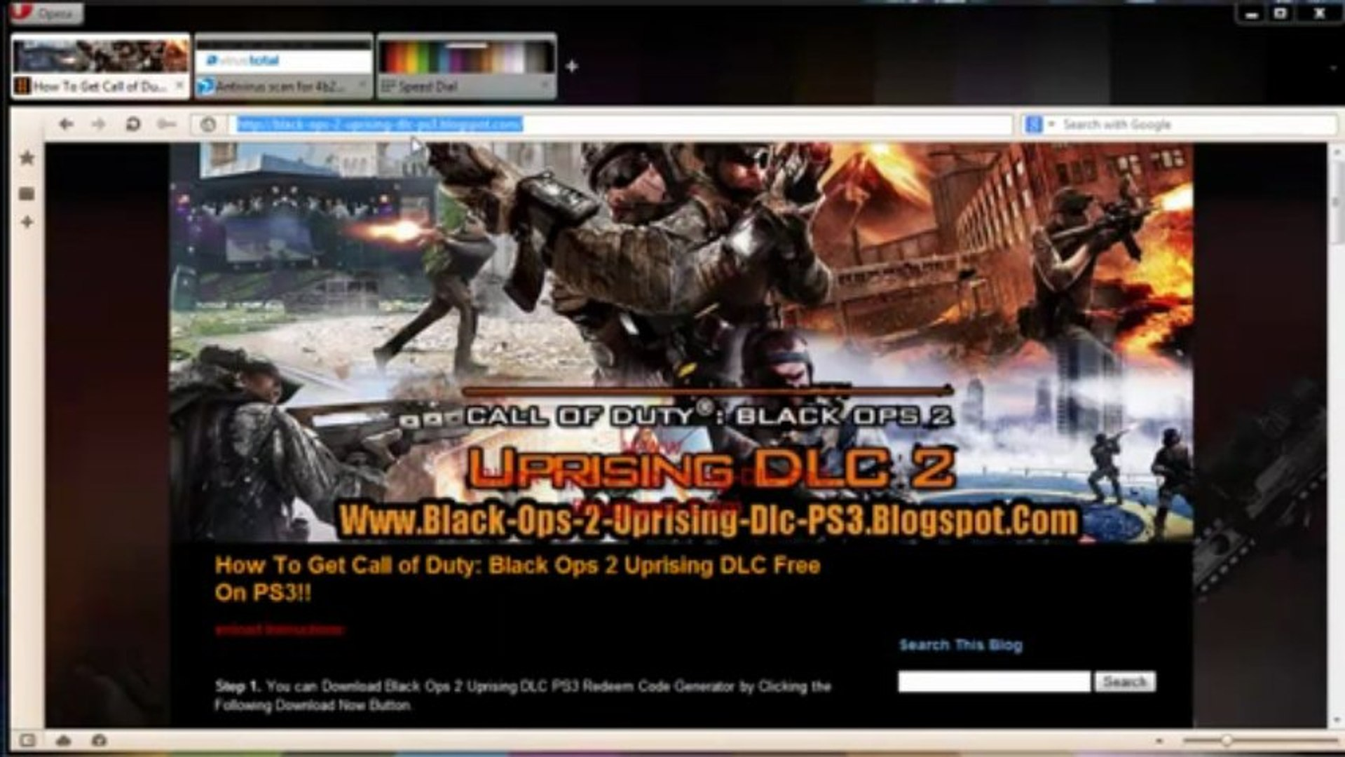 Call Of Duty Black Ops Ii Uprising For Ps3 Download Video Dailymotion