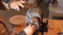 Mandrin de tournage sur bois universel Holzprofi - HM DIFFUSION