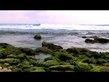 Purple sky and green rocks: Andaman & Nicobar islands