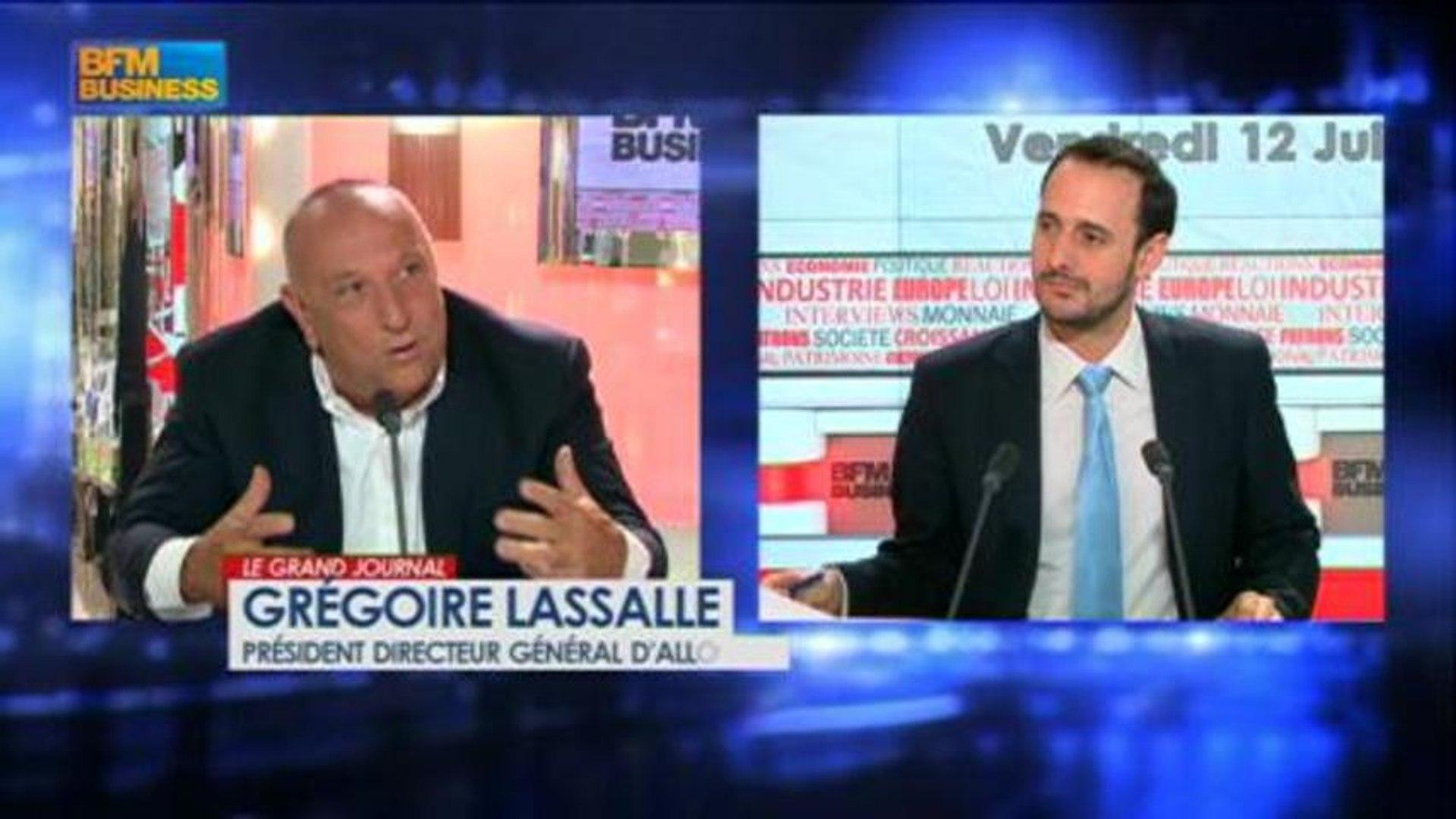 Grégoire Lassalle, président directeur général d'AlloCiné dans Le Grand Journal - 12 juillet 4/4