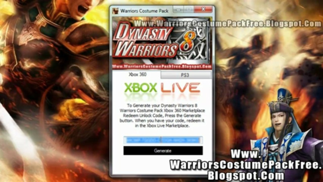 Dynasty Warriors 8 Warriors Costume Pack Dlc Free Download Video Dailymotion