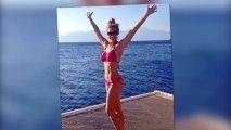 Former Hollyoaks Star Gemma Atkinson Flaunts Her Toned Figure in Hot Pink Bikini