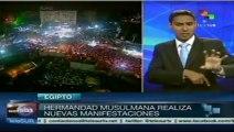 Egipto: Hermandad Musulmana continúa movilizándose en favor de Mursi