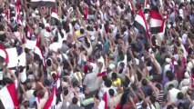 Morsi supporters rally in the thousands for his return