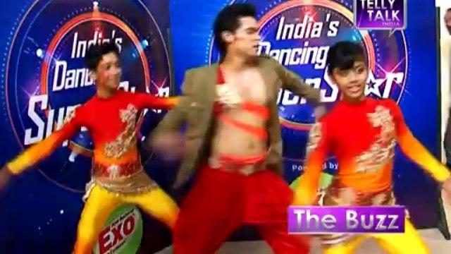 India's Dancing Superstar :  Kunwar Amar of 'Dil Dosti Dance' with Padmini and Debashish