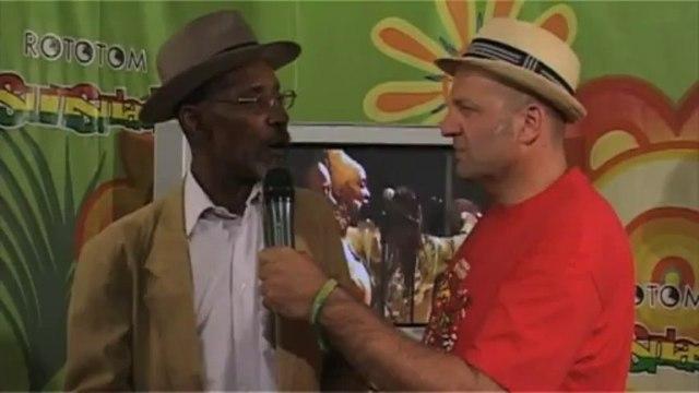 LINTON KWESI JOHNSON interview @Rototom Sunsplash 2011