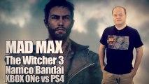 Mad Max, The Witcher 3, Namco-Bandai sur 3DS, Mémoire des next-gen