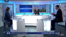 Anne Hidalgo, invitée politique de Samedi politique sur France 3, le samedi 13 juillet 2013
