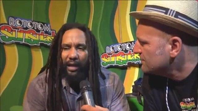 KY-MANI MARLEY interview @ Rototom Sunsplash 2012