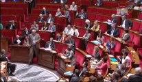 16 juillet 2013, Questions au gouvernement : Bertrand Pancher interroge le premier ministre sur la politique environnementale
