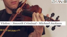 Cours violon : Smooth criminal - Michael Jackson - HD