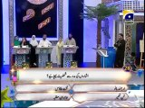 7th Iftar Zair Zaber Paish Part 1 in Amaan Ramazan with Aamir Liaquat 1434h 17-7-2013