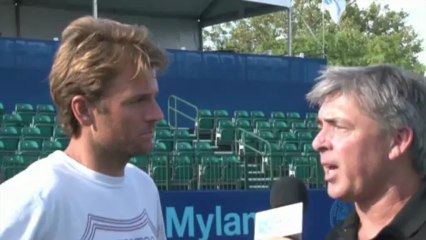 World TeamTennis: Mardy Fish Interview July 10th, 2013
