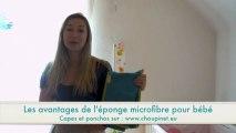 Cape de bain bébé et poncho de bain bébé - La matière microfibre pour bébé expliquée par Choupinet.eu