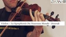 Cours de violon : symphonie du nouveau monde - Dvorak - HD