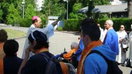 Bénédiction des pèlerins - mardi 2 juillet 2013