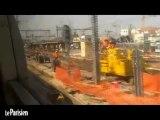 Brétigny : les dégâts sur les voies une semaine après le drame