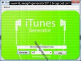 Download iTunes Gift Card Code Generator 2013 Tested and Daily Updated 1000% Working