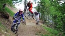 Nouvelle piste de descente VTT du diable - 2 Alpes Bike Park