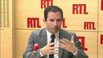 """Benoît Hamon : """"L'objectif, c'est l'inversion de la courbe du chômage"""""""