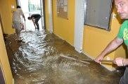 Le Creusot : inondation à l'Ampli