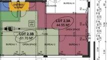 Location Vide - Bureau CHANGE - 1 200 + 152 € / Mois