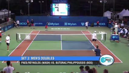 World TeamTennis Highlights: Washington Kasltes vs Boston Lobsters July 15, 2013
