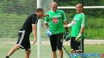 Diaporama sonore - ASSE : la confiance selon Fabrice Grange et les gardiens de buts