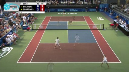 World TeamTennis Highlights: Orange County Breakers vs New York Sportimes July 18, 2013