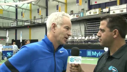 World TeamTennis Interview: John McEnroe, Steve Johnson - July 18, 2013