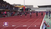 Finale 100m Juniors Filles Dijon 2013