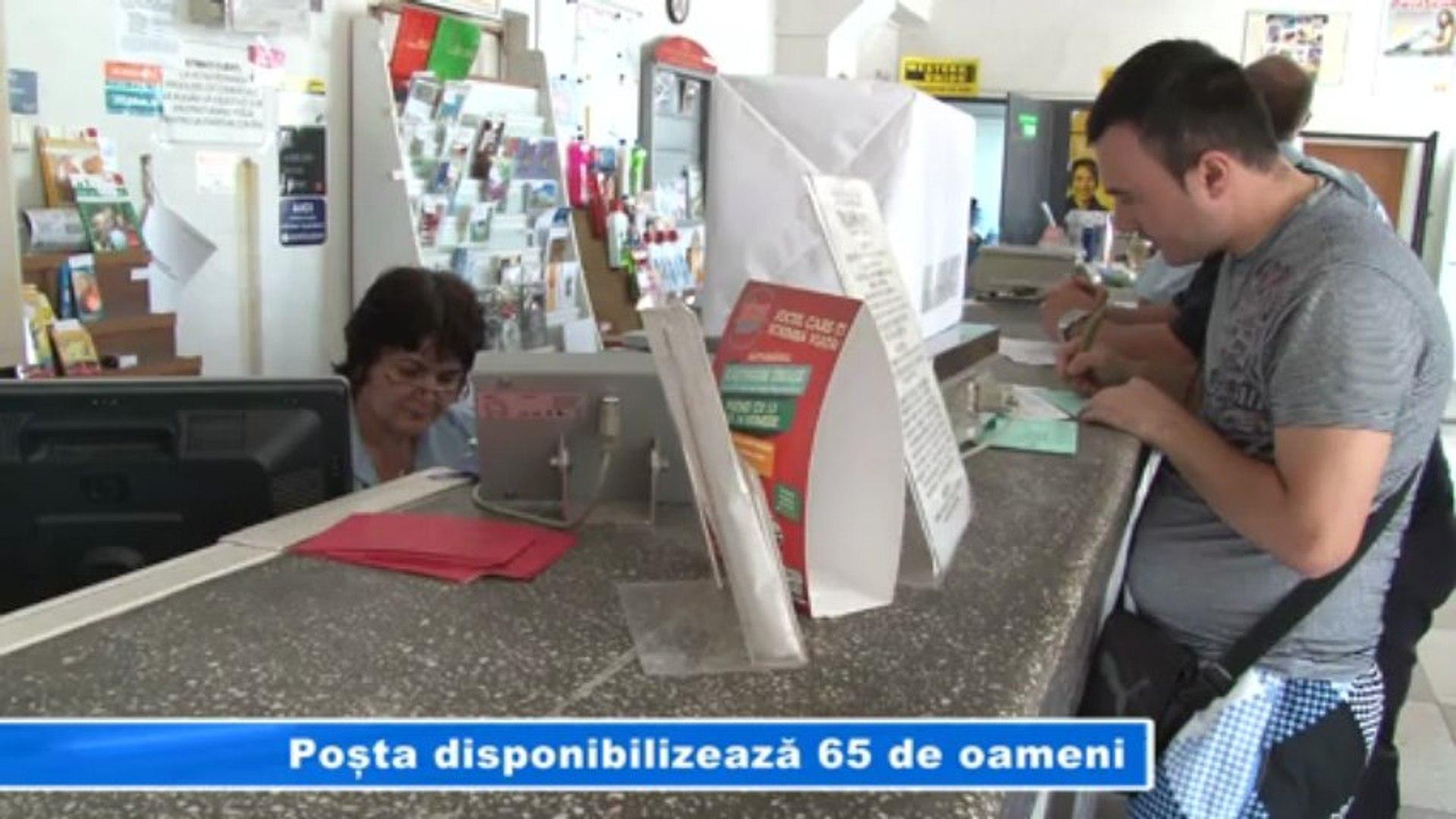 POSTA DISPONIBILIZEAZA 65 DE OAMENI