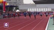 Finale 100m Cadets Dijon 2013