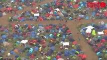 Vieilles Charrues 2013 : le festival vu du ciel