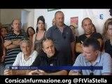 #Corse Conférence de presse de Corsica Libera pour dénoncer les attaques contre ses militants