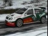 Essai de la Skoda fabia WRC de kopecky