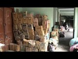 Supplies stock at a Relief Centre: Aftermath of Uttarakhand Floods