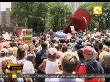 مسيرات في أكثر من مائة مدينة أمريكية للتضامن مع ترايفون