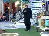 11th Iftari Rah e Naiki Part 1 in Amaan Ramazan with Aamir Liaquat 1434h 21-7-2013