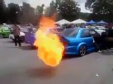 Flame thrower..