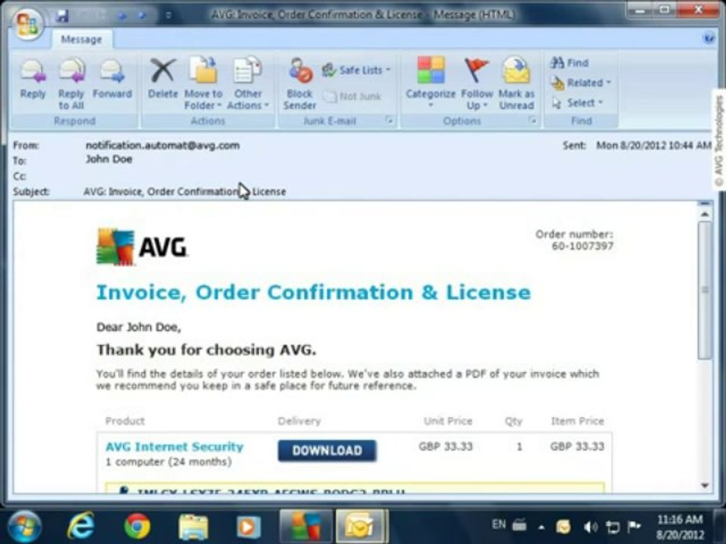 free avg internet security 2012 with license key till 2018