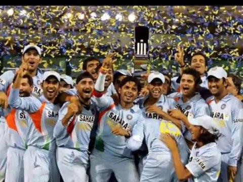 India Cricket Winning Champions