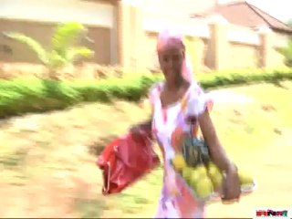 Mercy Johnson Gives An Orange Seller A Chase With 7months Pregnancy