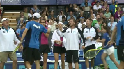 World TeamTennis Highlights: Texas Wild vs Philadelphia Freedoms July 21, 2013
