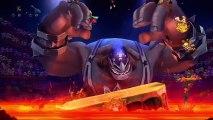 Rayman Legends - Kung-foot, niveau musical, invasion et boss