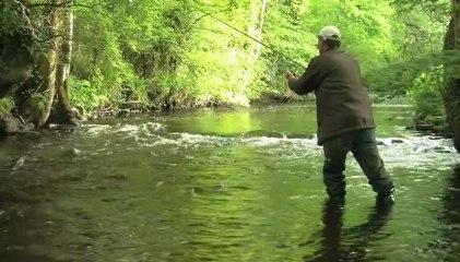 Pêche de la truite sauvage au toc en Morbihan