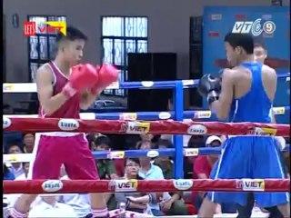 Trận 5: Võ sĩ Nguyễn Văn Chung (TP.HCM) - Võ sĩ Ngô Việt Nhật (Quảng Ngãi)